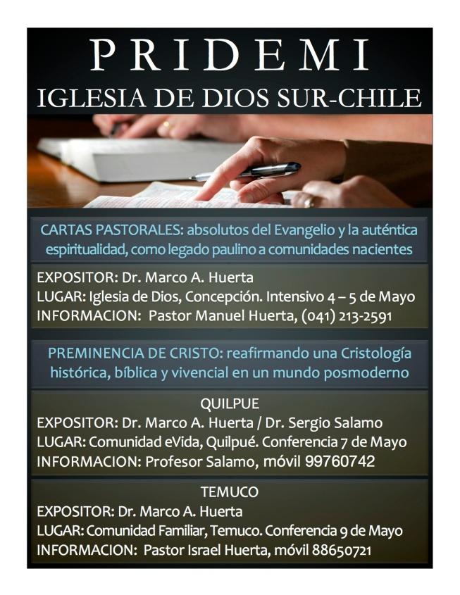 PRIDEMI SUR-CHILE